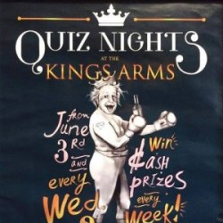 Kings Arms Pub Quiz